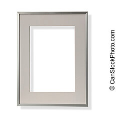 frame metal isolated