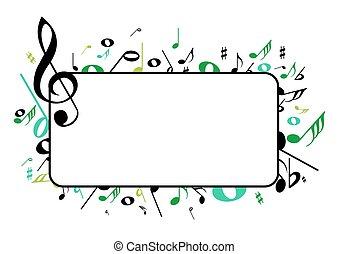 frame, muziek