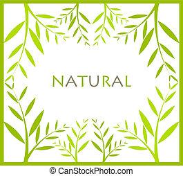 frame, natuurlijke