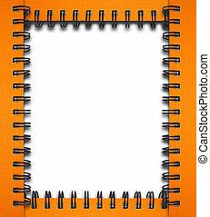 frame notebook