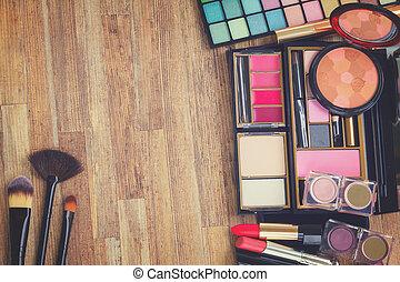 frame of make up