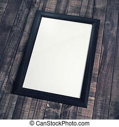 Frame of photo