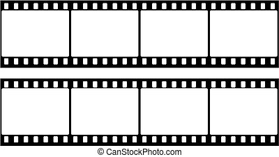 Frame of photographic film (seamles