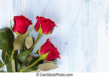 Frame of roses.