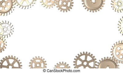 Frame of Rotating Gears