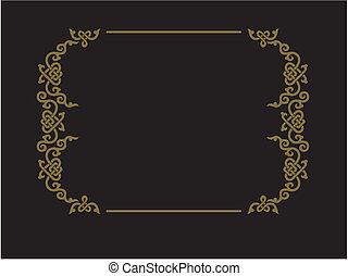 frame of the ornaments of Bashkorto