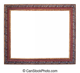 frame on a white background