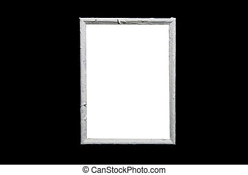 frame on the black wall