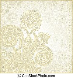 frame ornate card announcement - hand draw frame ornate card...