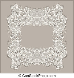frame ornate card announcement