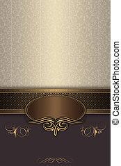frame., ouderwetse , decoratief, achtergrond