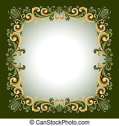 frame, ouderwetse