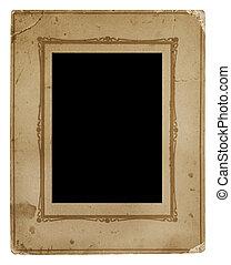 frame, ouderwetse , foto