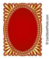 frame oval