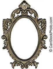 frame., oval