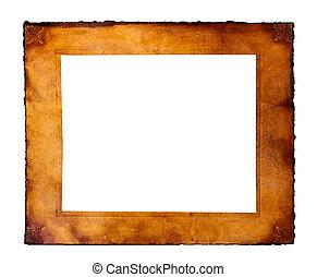 frame, perkament