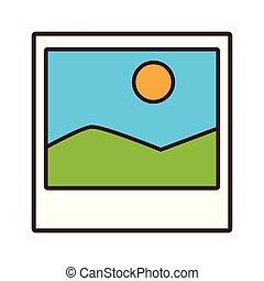 frame picture cartoon vector illustration graphic design