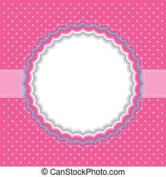 frame, polka punt