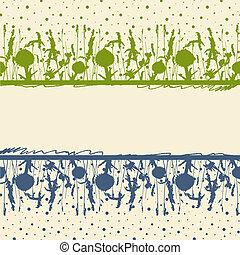 frame., pradera, hierbas