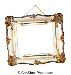 frame, retro, touwtje