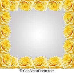 frame, rozen