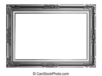 frame - Photo frame isolated on a white background.