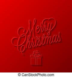 frame, vakantie, kerstmis, vrolijk, vrolijke