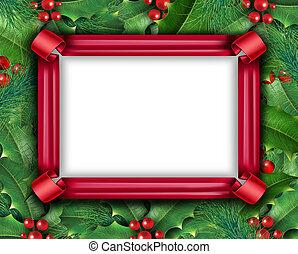 frame, vakantie, winter