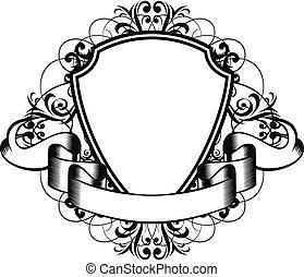 frame - Vector illustration decorative frame with patterns