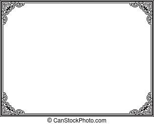 frame, vector