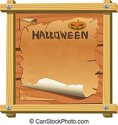 frame, vector, halloween