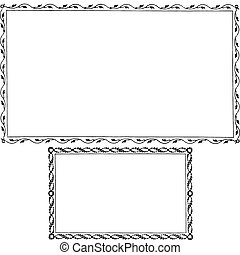 frame, vector, set