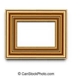 frame, vector, voor, foto, of, afbeelding