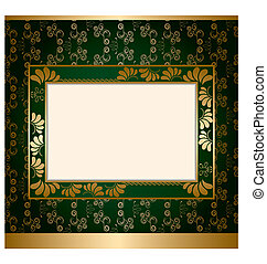 frame, versiering, abstract