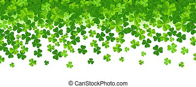 Frame With Clovers