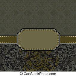 frame with gilt