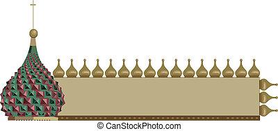 Frame with Kremlin Dome