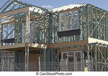 Frame Work For New House