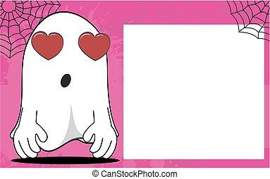 frame10, halloween, dessin animé, fantôme