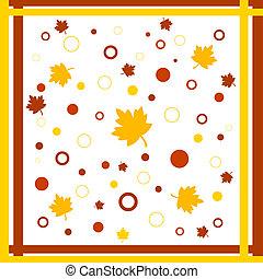 Framed fall design
