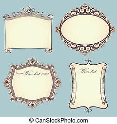 frames, марочный, коллекция