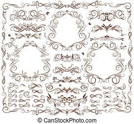 frames, марочный, elements, дизайн