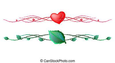 frames-elements - Vector illustration of two frames elements...