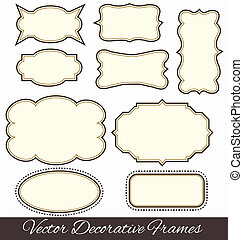 Frames elements vector
