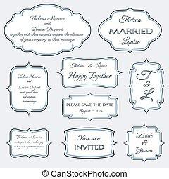frames for wedding invitation cards