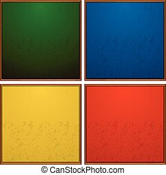 Frames in four colors