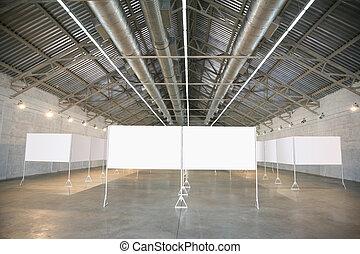 frames in hangar