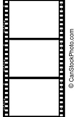Frames of photographic film ( seamless) - Frames of...