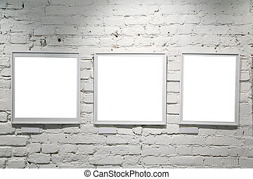 frames on wall 2