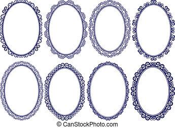 frames oval